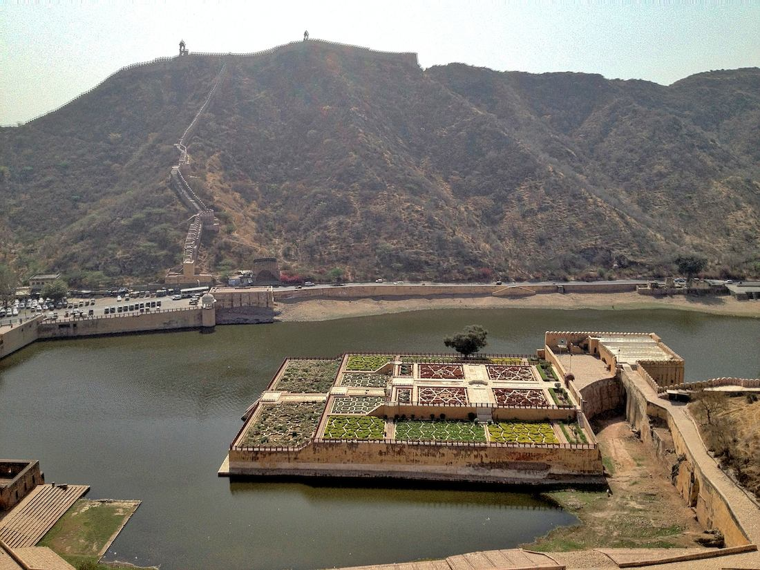 amber fort and maota lake