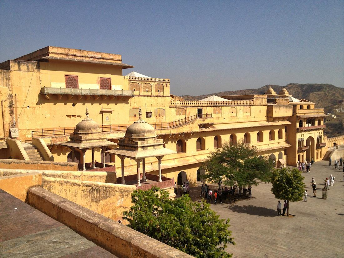 inside the amer fort