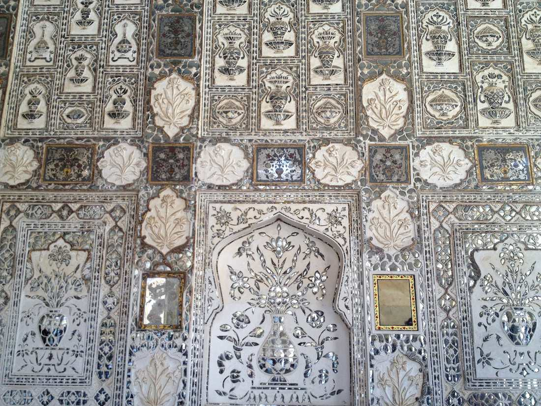 amer fort mirror palace
