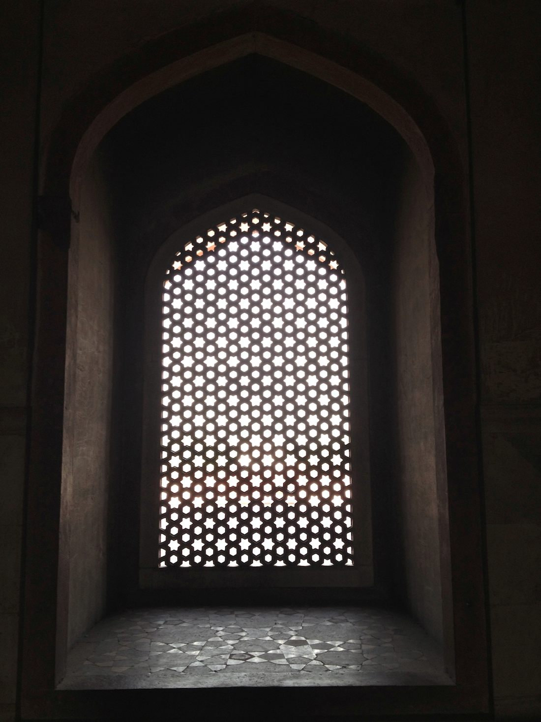 Humayun's Tomb lattice window