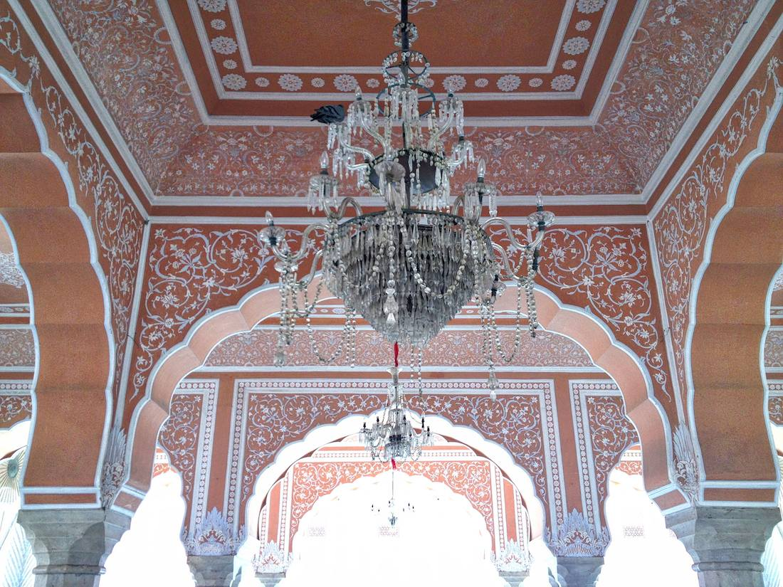 city palace chandelier