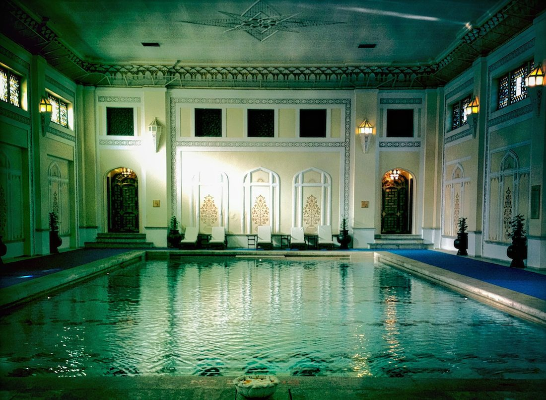 rambagh palace indoor pool