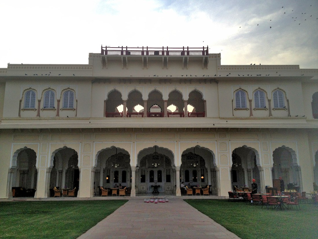 rambagh palace the verandah
