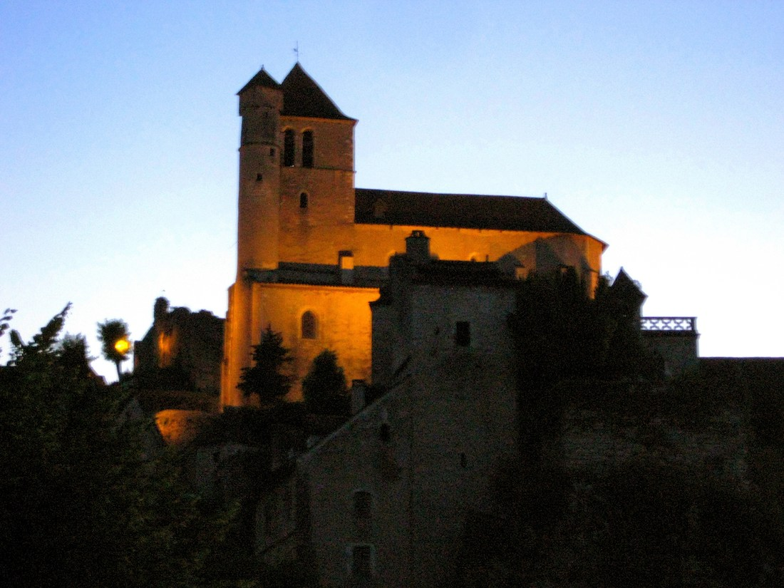 Church Saint Cirq Lapopie