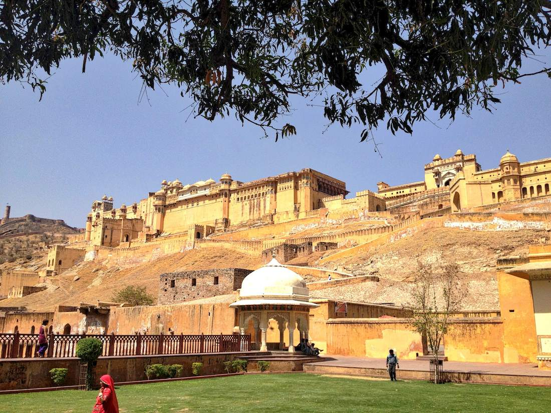 amber fort and garden