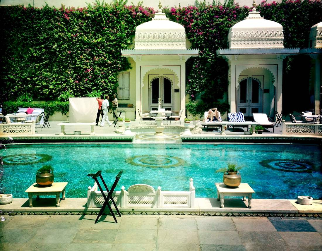 City Palace poolside