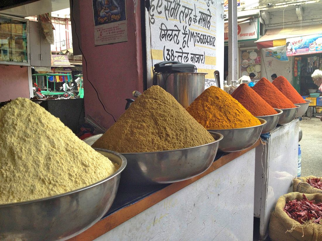 Spices in Udaipur market