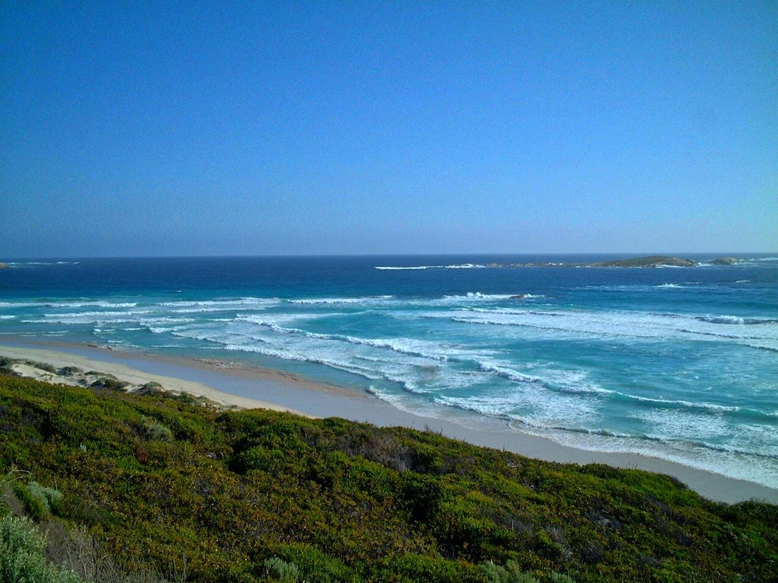 Twilight beach, bay, esperance